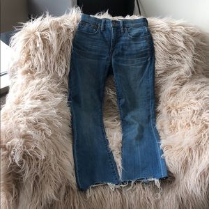 Denim Madewell Cali Demi Jeans